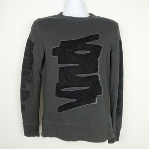 H&M Men's Sweatshirt Embroidered